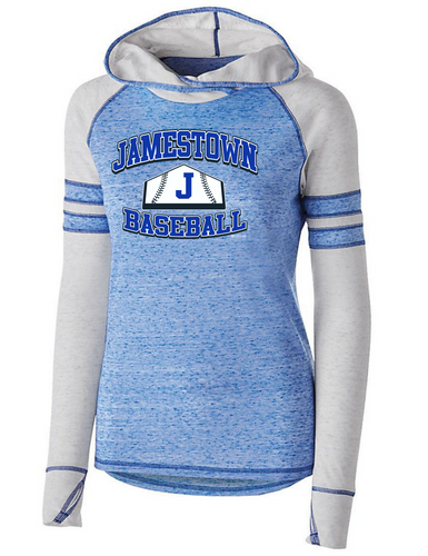 Jamestown Baseball 229749 Ladies Hoodie