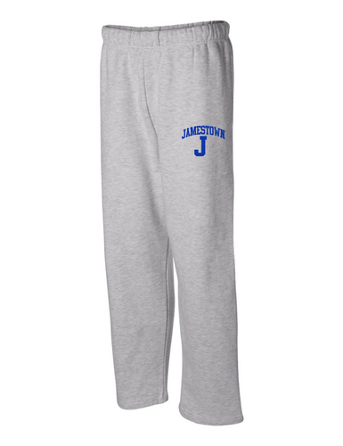 Jamestown Baseball 23485 Unisex Open Bottom Sweatpants Adult & Youth