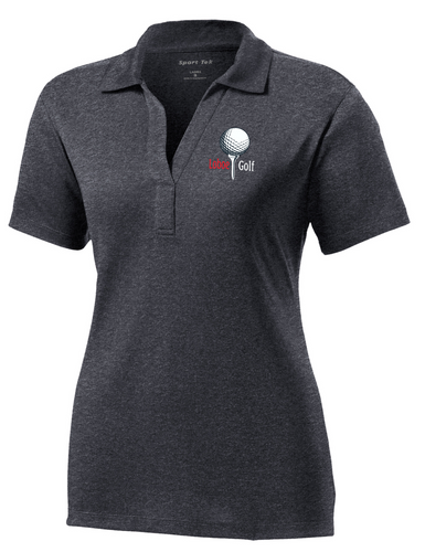 LaMoure Golf Sport-Tek® Heather Contender™ Ladies Polo