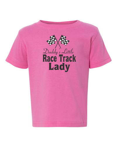 Jamestown Speedway Toddler Tees Lady