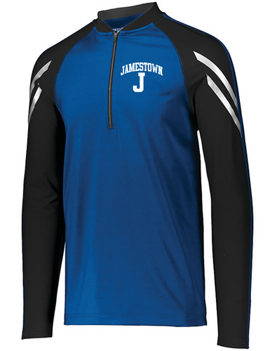 Jamestown Baseball 222502 Unisex Flux Half Zip Pullover