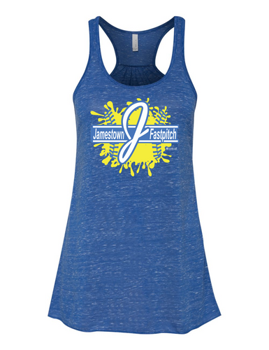 Jamestown Fastpitch 8800 Bella + Canvas - Women's Flowy Racerback Tank