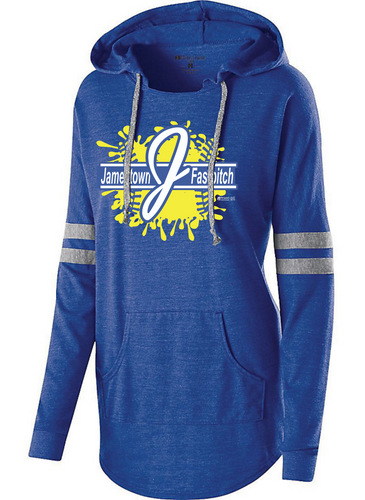 Jamestown Fastpitch 229390 Ladies Low Key Hoodie