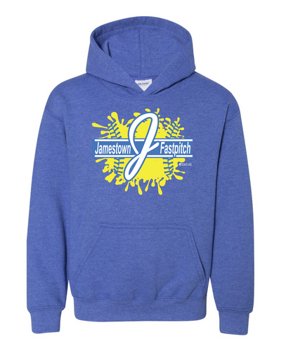 Jamestown Fastpitch Gildan 18500 Adult & Youth Hoodie