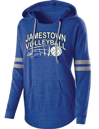 Jamestown Volleyball 229390 Ladies Hooded Pullover