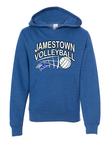 Jamestown Volleyball 32076 Youth Hooded Sweatshirt