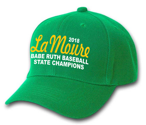 Lamoure Babe Ruth State Champ Cap