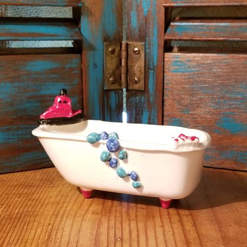 Claw Foot Bath Tub Soap Dish   Handmade In Oklahoma Tug Boat