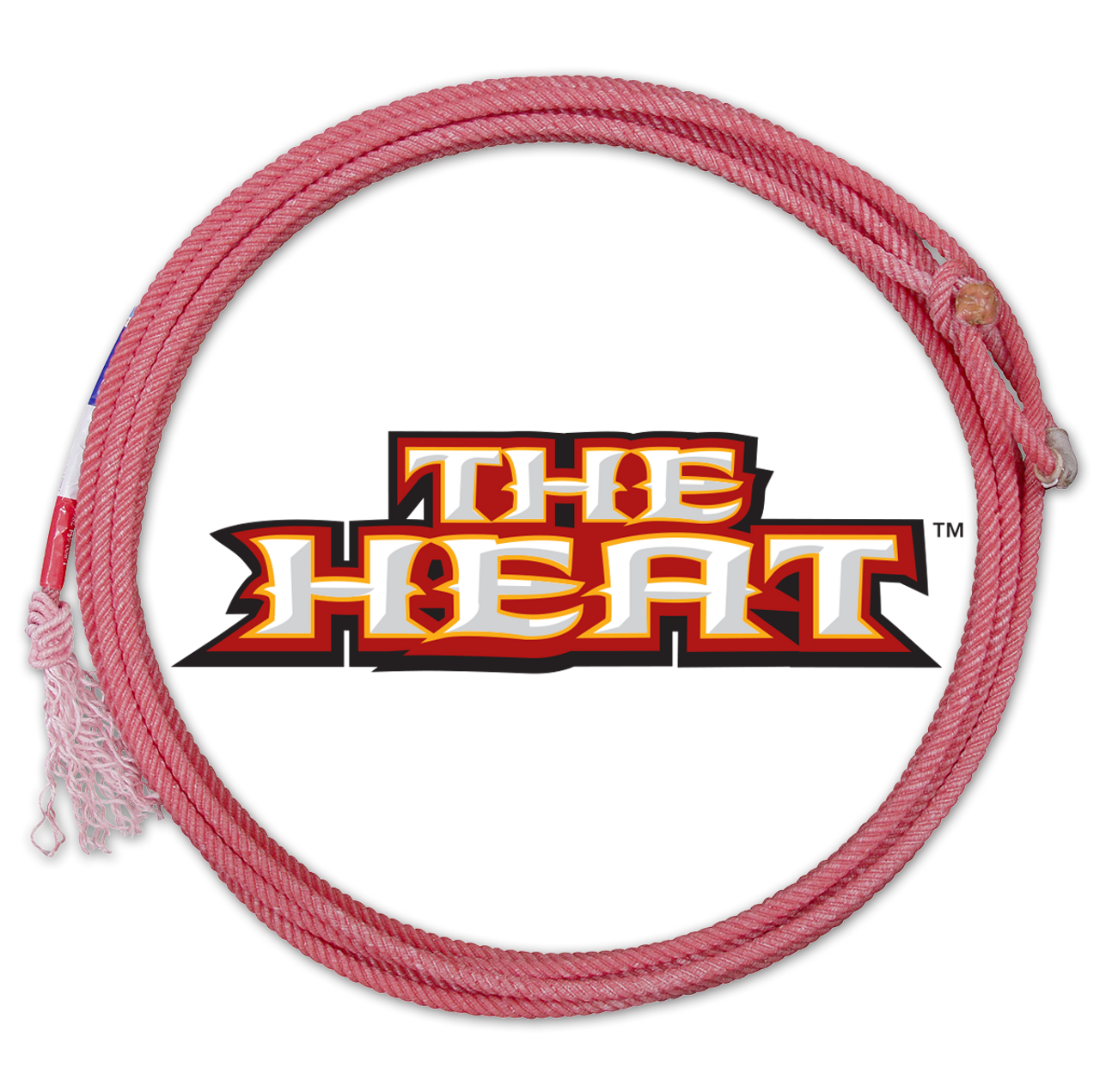 The Heat is the next generation four strand technology from Classic® Rope. Made from a blend of custom fibers and intricate twists, The Heat has set a new standard in rope feel and performance. Designed for today's aggressive roping styles, The Heat provides a loop that is packed with body. Even in forced situations, the tip remains ahead of the swing for a more controlled and confident delivery. Lightweight and built for performance, The Heat is built to take punishment. Run after run, it maintains its original, snappy feel. Top ropers such as Turtle Powell, Colby Lovell, Dustin Bird, and Rich Skelton are all packing Heat. Can you handle it?