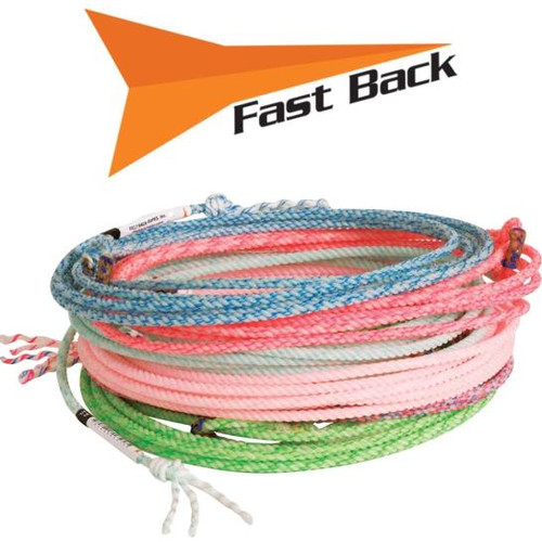 Fast Back Vapor Kid Rope 1/4in x 18ft (Assorted Colors)