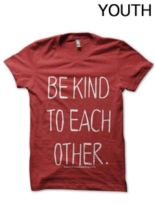 Youth Be Kind to Each Other T-Shirt