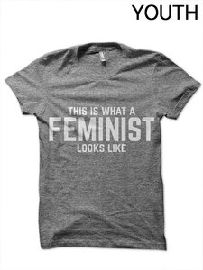 This is a Feminist Youth T-Shirt