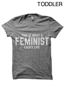 This is a Feminist Toddler T-Shirt