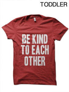 Toddler Be Kind to Each Other T-Shirt (2)
