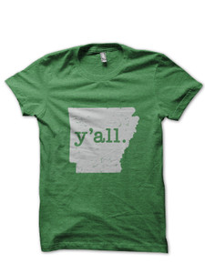 Arkansas y'all. T-Shirt - Solid