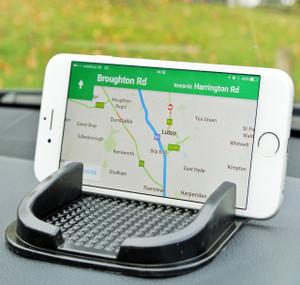 LUPO Car Dash Mat Anti Slip Grip Universal Mobile Phone, Smartphone (Samsung, HTC, Motorola, Nokia, Sony Ericsson), iPhone (3G, 3GS, 4, 4S, 5) Sat Nav, Gadget Holder