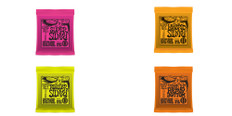 Ernie Ball Slinky Variety Pack 2221, 2222, 2223, and 2215's