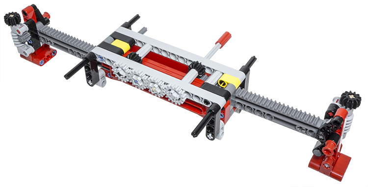 LEGO Technic Building Tip - Motorized Extendable Outriggers ...