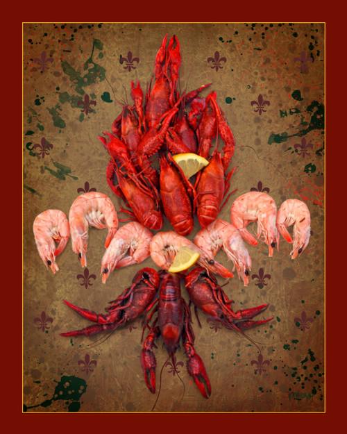 Crawfish and Shrimp Fleur