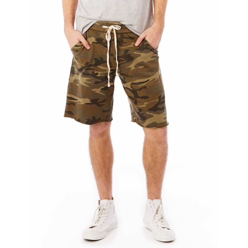 Men's Victory Printed Burnout French Terry Shorts