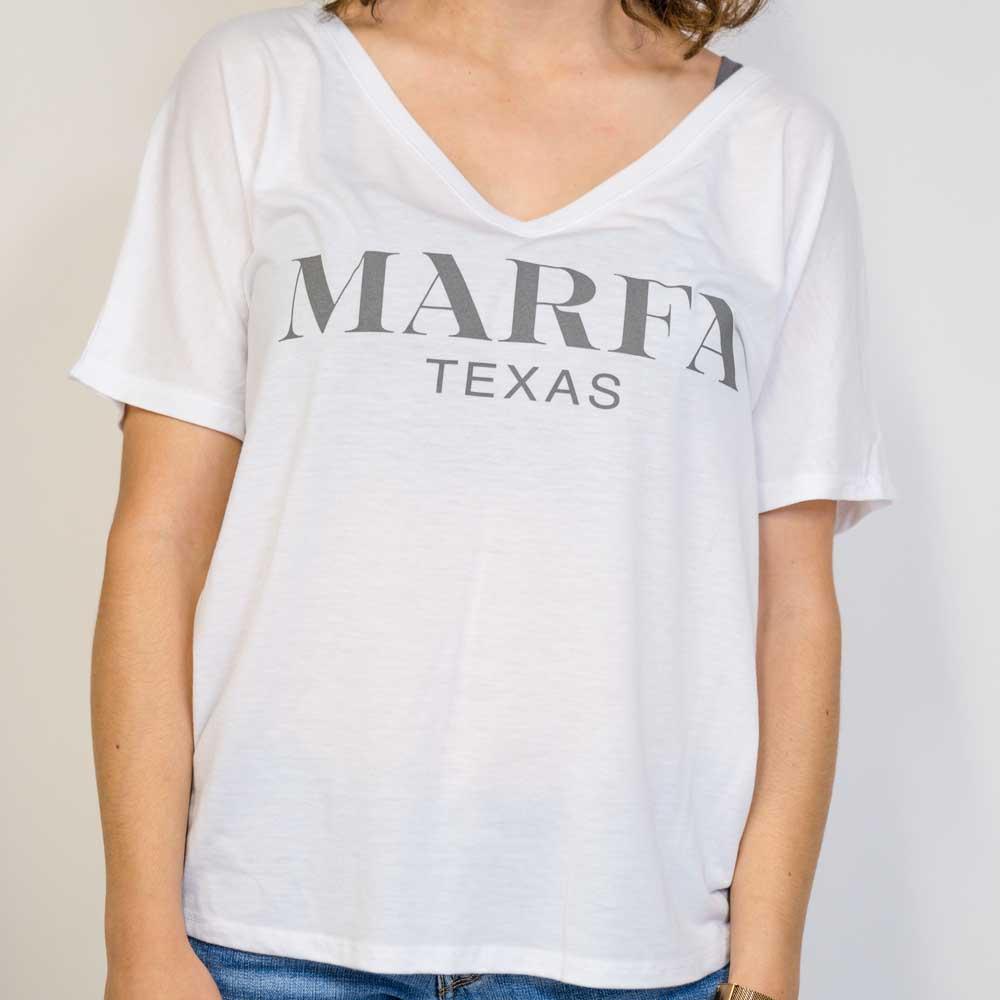 Women's Marfa Luxe V-Neck Tee