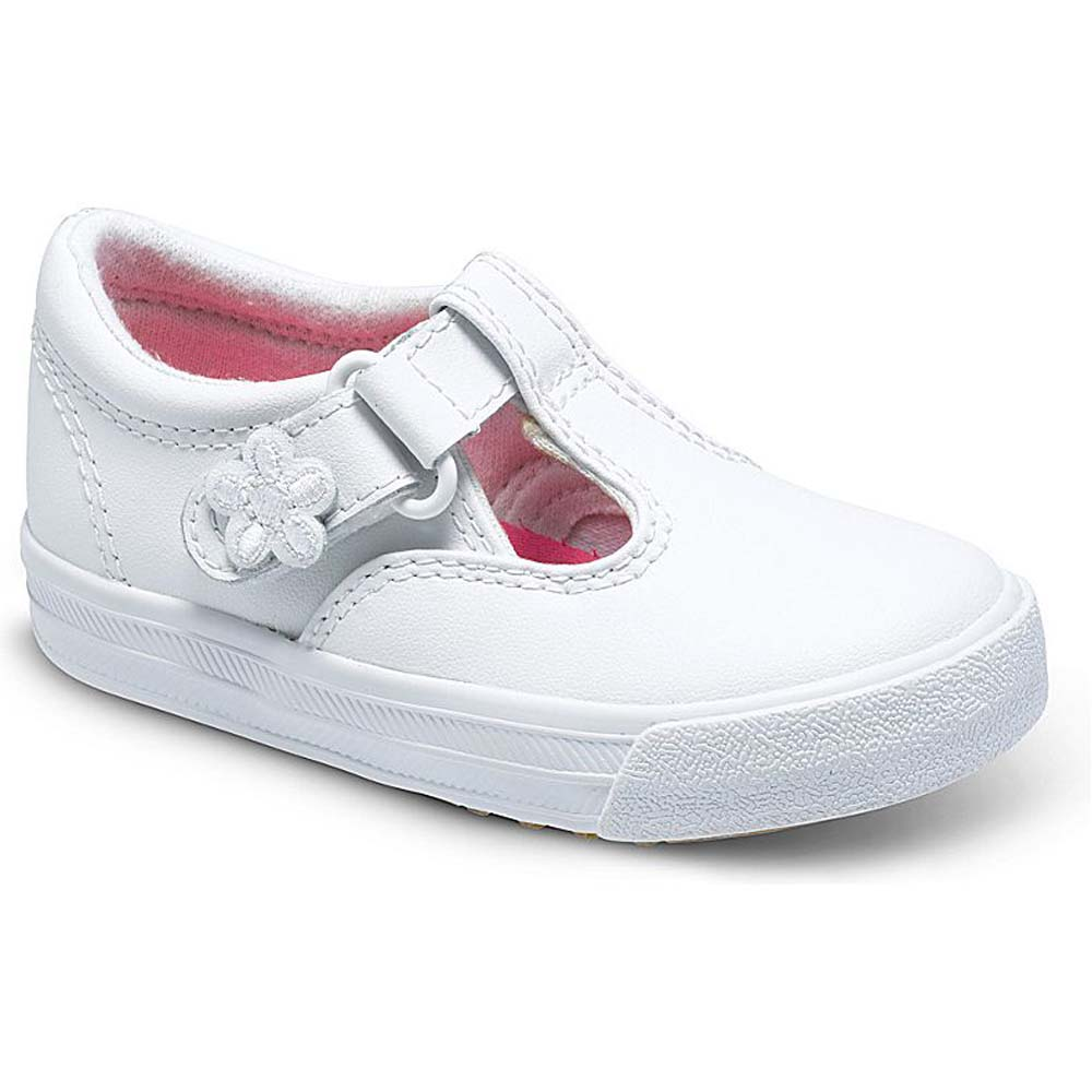 Girls' White Daphne Shoes