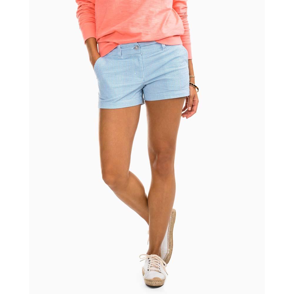 Women's Leah 3'' Seersucker Shorts