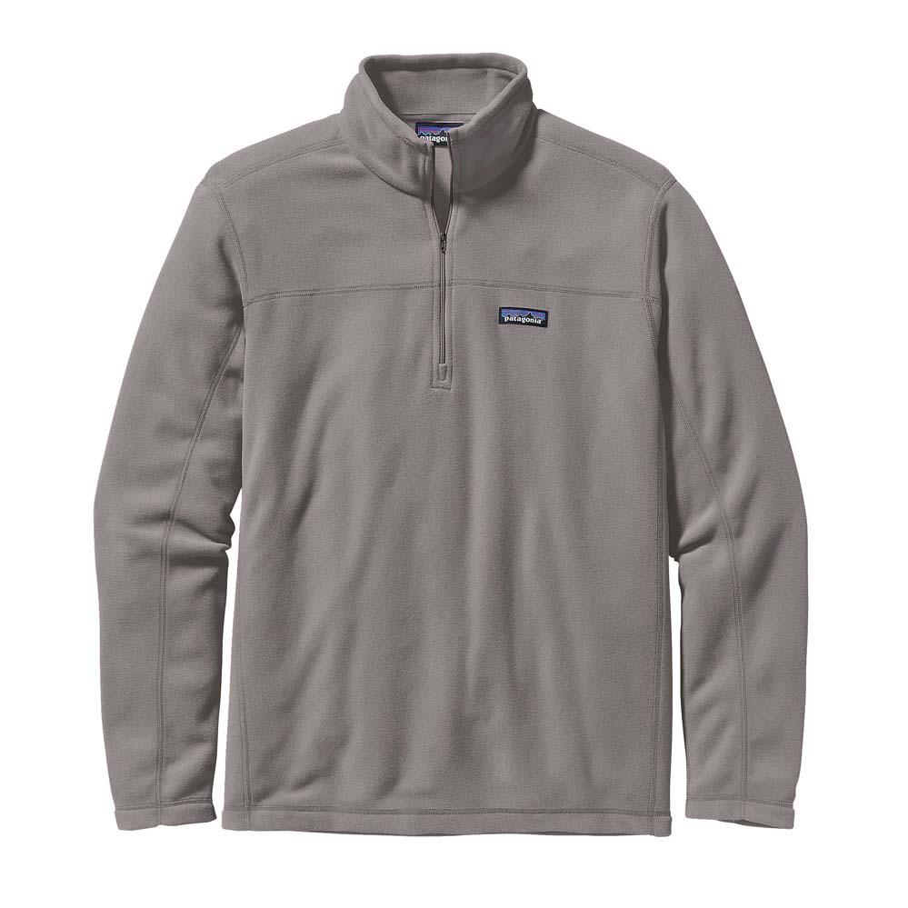 Men's Feather Grey Micro D Fleece Pullover