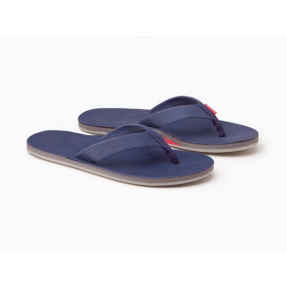 Men's Parks Sandals- Navy & Grey