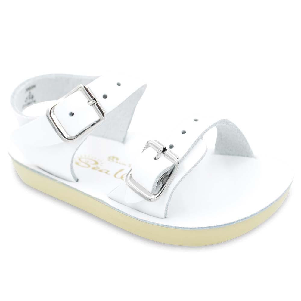 Baby White Sun-San Sea Wee Shoes