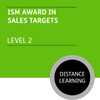 ISMM Certificate in Sales and Marketing (Level 2) - Sales Targets Module - Distance Learning/Lite