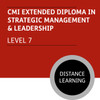 CMI Extended Diploma in Strategic Management and Leadership (Level 7) - Distance Learning/Lite