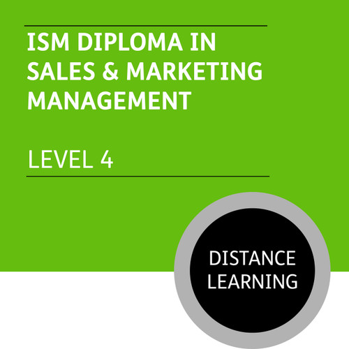 ISMM Diploma in Sales and Marketing Management (Level 4) - Distance Learning/Lite