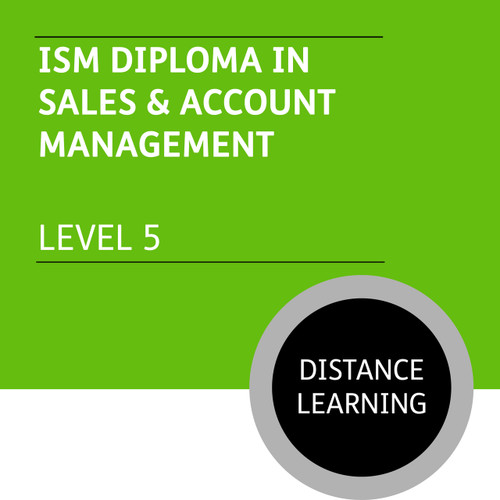 ISM Diploma in Sales and Account Management (Level 5) - Distance Learning/Lite