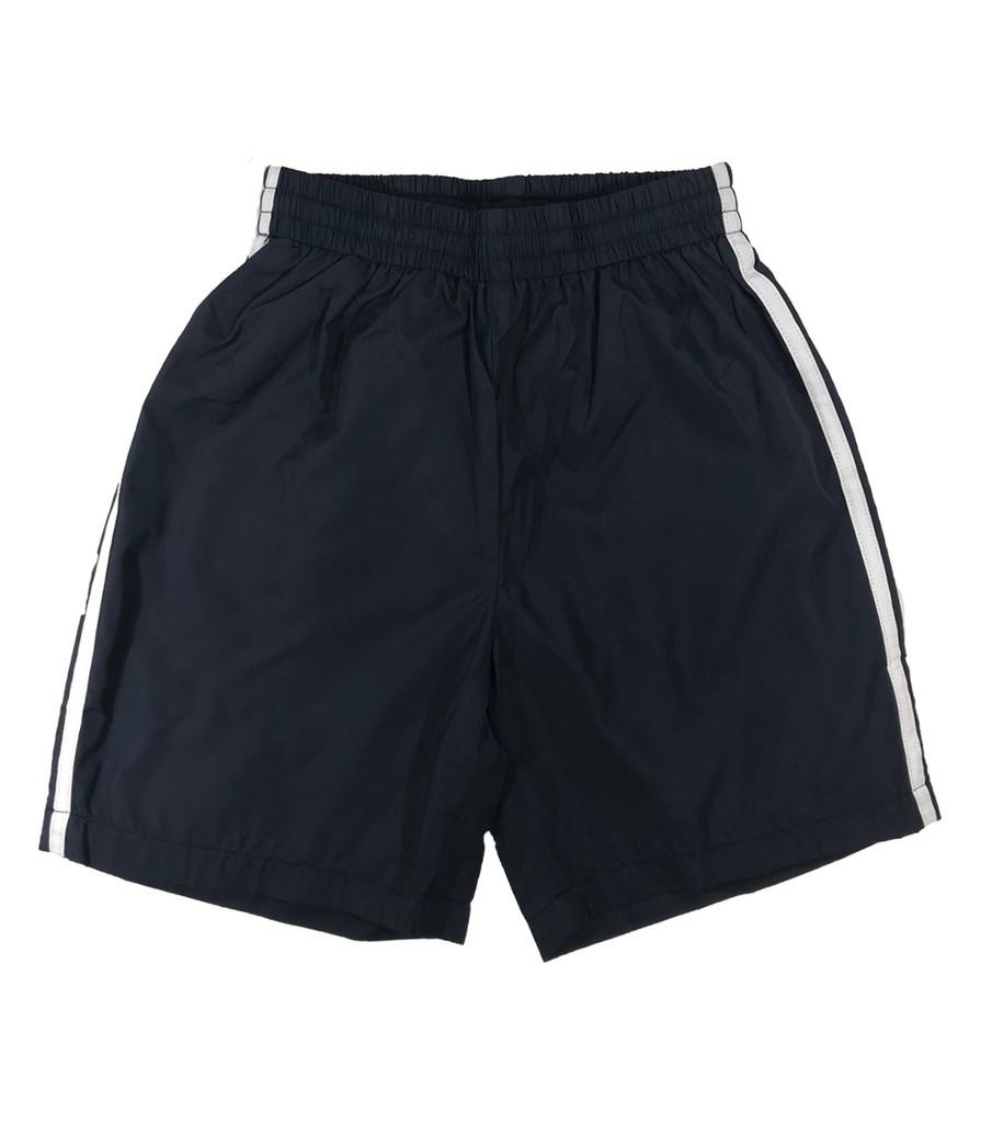 Navy blue sports shorts