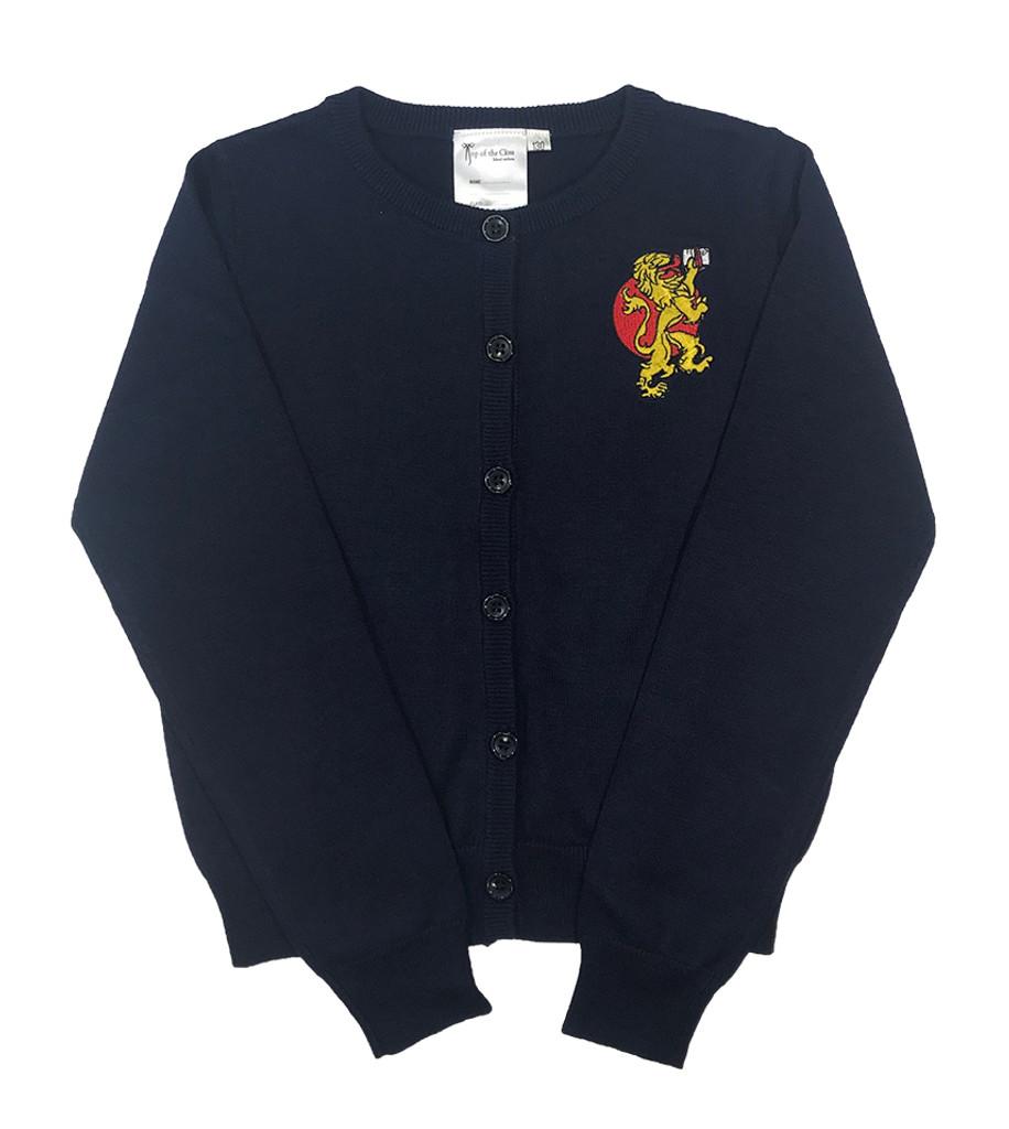 BST navy blue cardigan