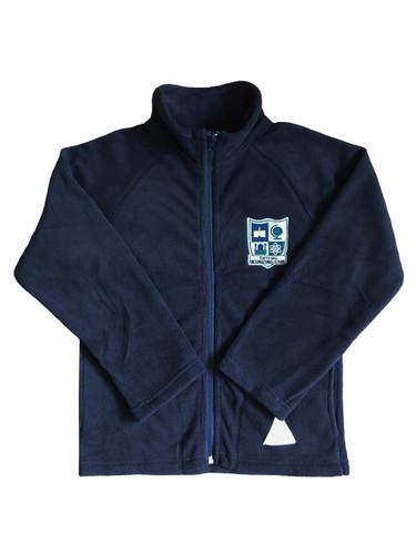 IQRA navy fleece