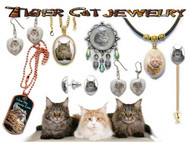 Maine Coon Cat Jewelry
