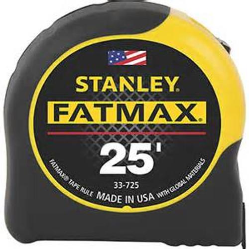 Stanley 25' Fat Max Tape Measurer