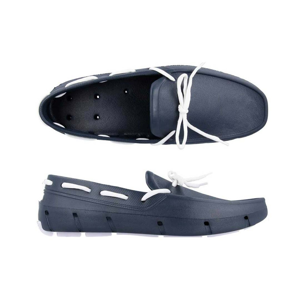Navy & White Deck Shoe