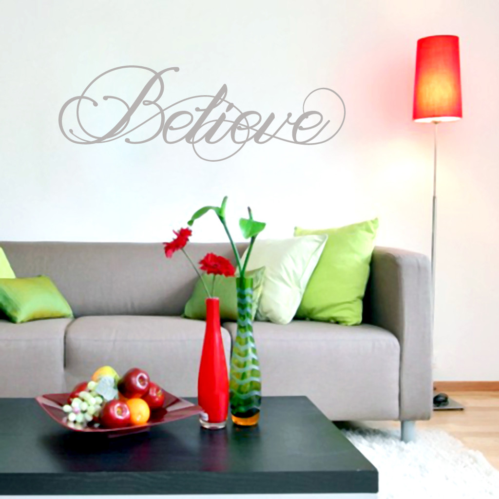 Believe Wall Decals and Wall Stickers