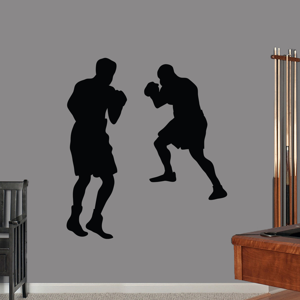 Boxers Wall Decals Large Sample Image