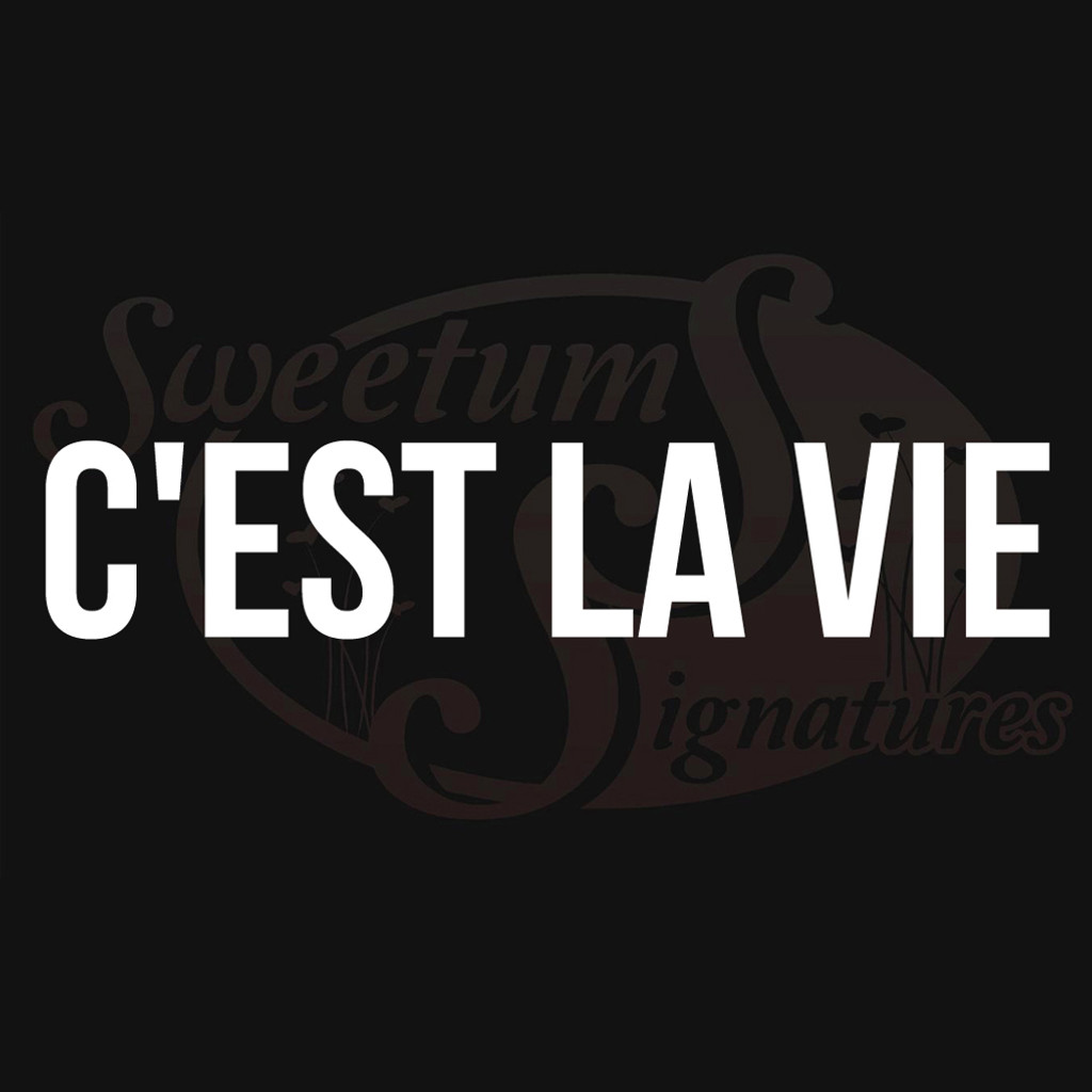 C'est La Vie Vehicle Decal Wall Stickers
