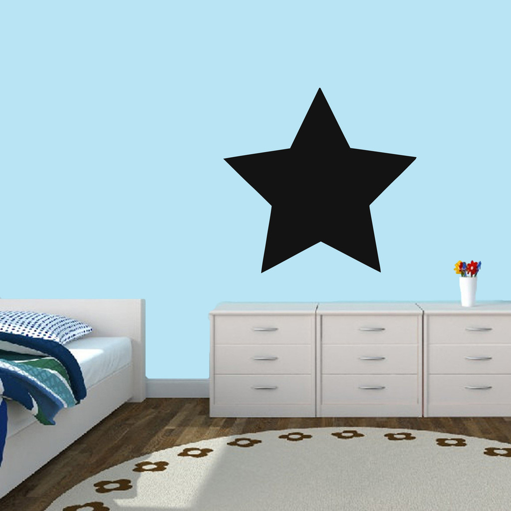Chalkboard Star Wall Decal