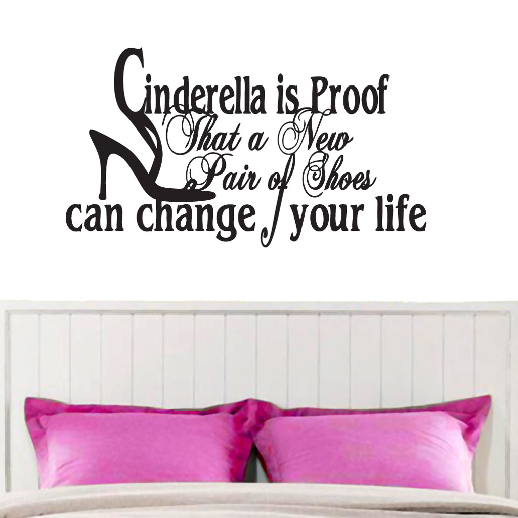 Cinderella Wall Decals and Wall Stickers