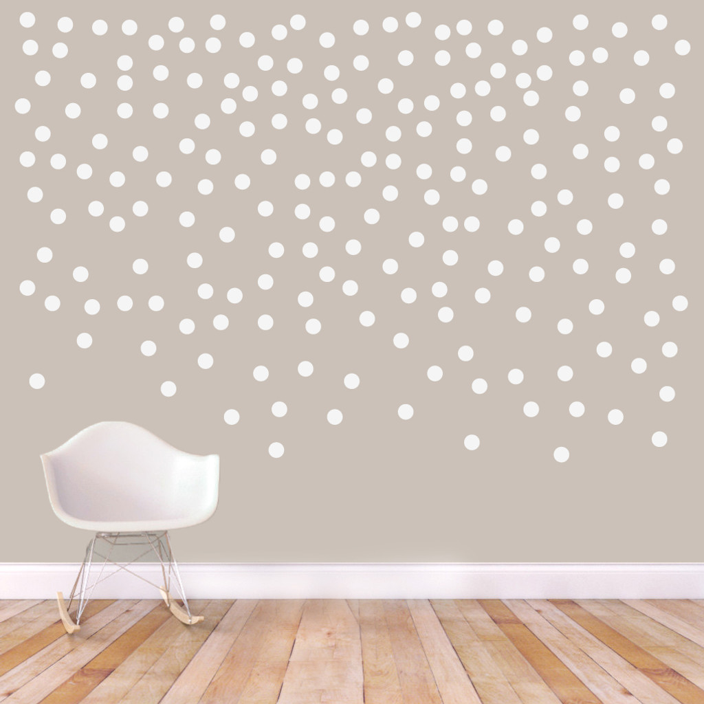 Confetti Dots Circle Wall Decals Wall Decor Stickers