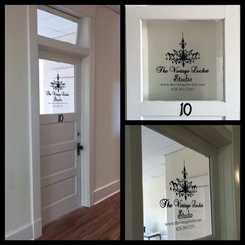 Custom Business Logo Window Decals and Stickers