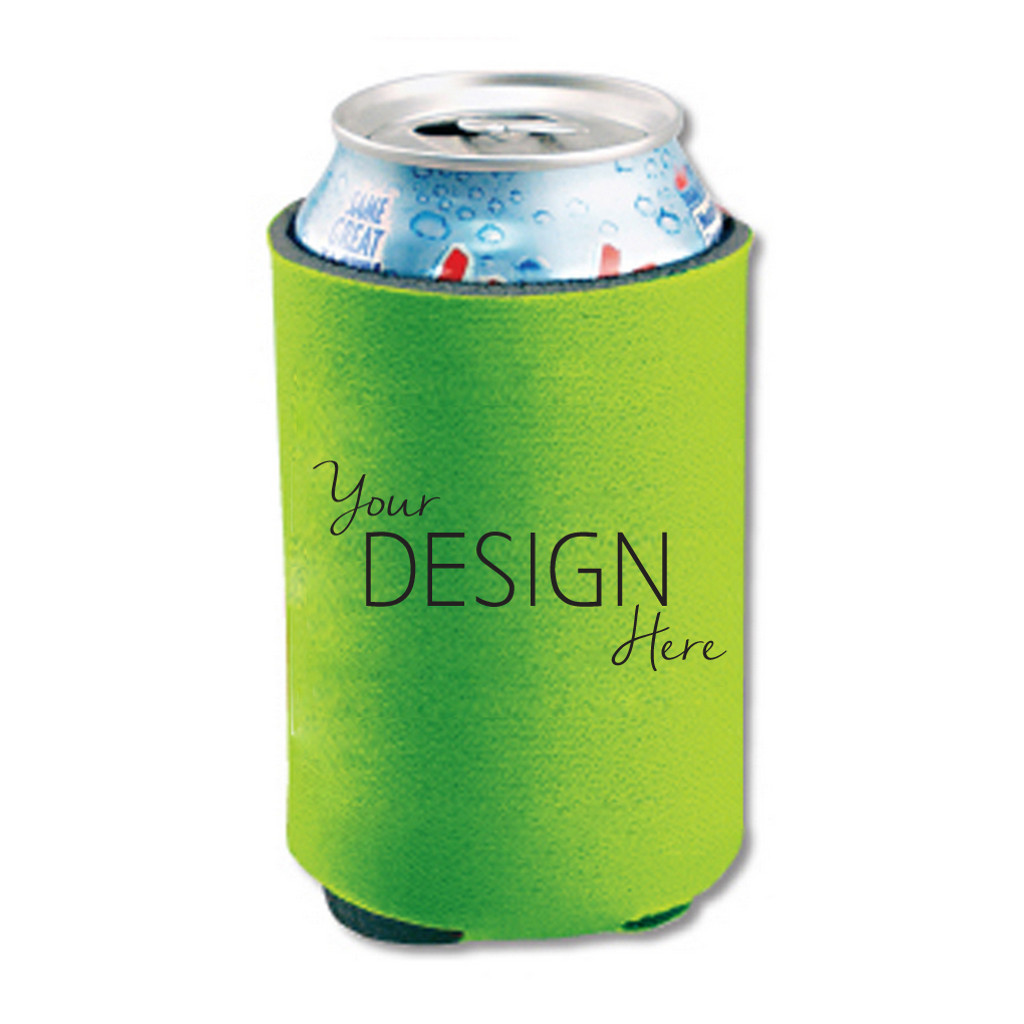 Custom Can Koozies Decals and Stickers