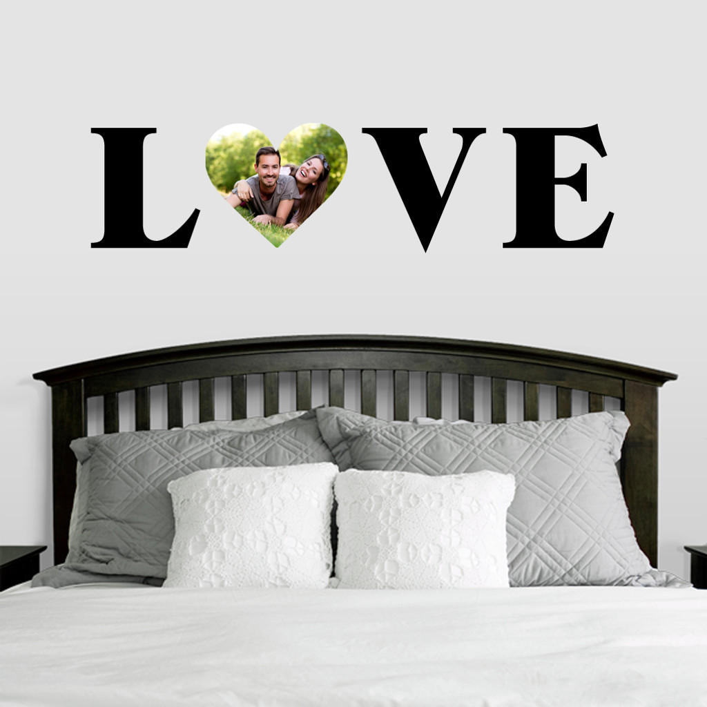 Custom Love Photo Wall Decals and Stickers