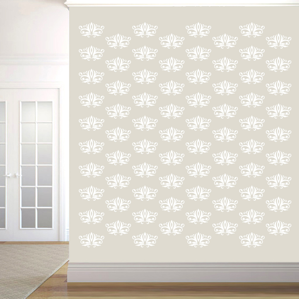 Damask Pack Wall Decals Sample Image